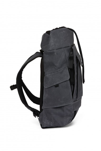 Blok Medium Backpack Coated blue