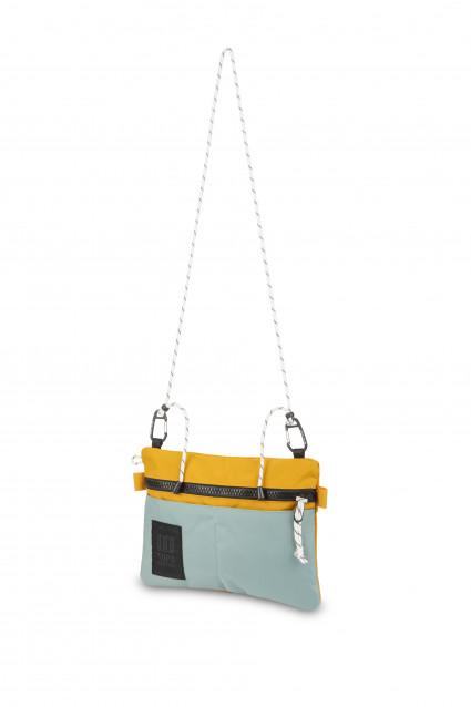 Carabiner Shoulder Accessory Bag Purple / Black Ripstop