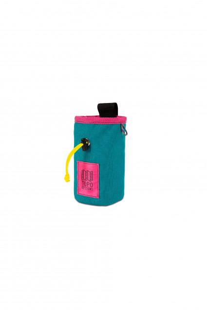 Chalk Bag Turquoise / Pink