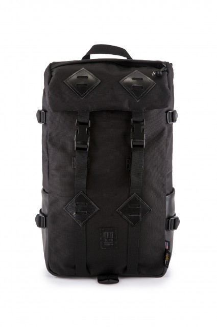 Klettersack Leather Ballistic Black