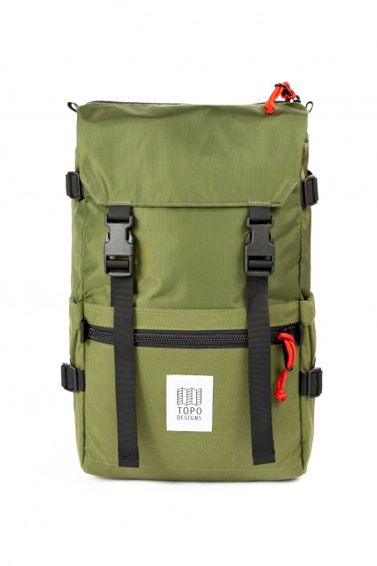 Rover Pack Classic Hot Coral / Turquoise / Mustard